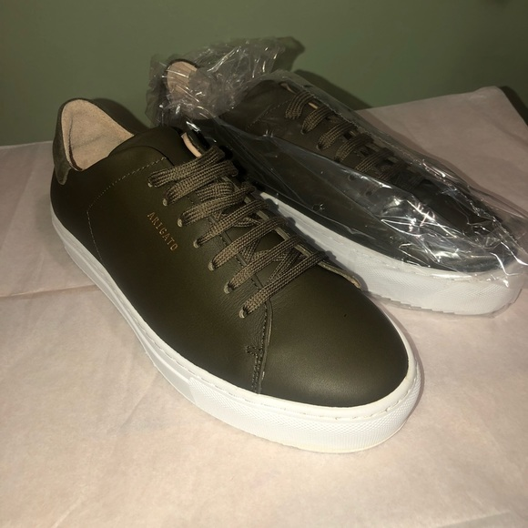 Axel Arigato Military Green Sneakers